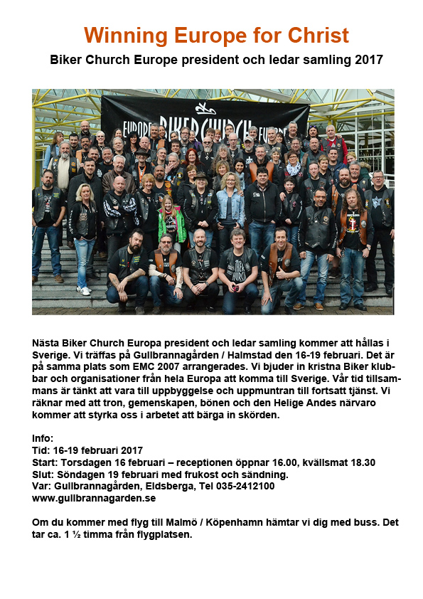 Biker church swe 1